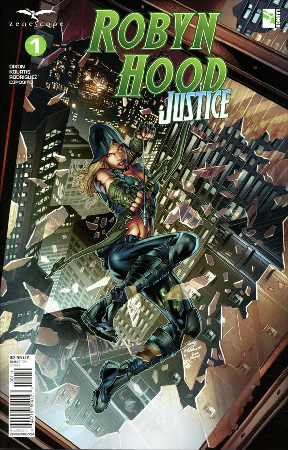 Robyn Hood: Justice 1-A by Zenescope Entertainment