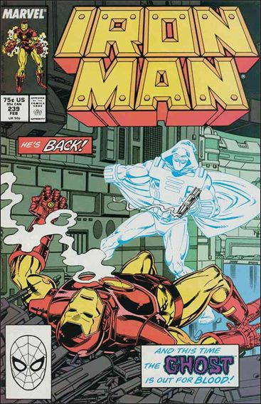 Iron Man (1968) 239-A by Marvel