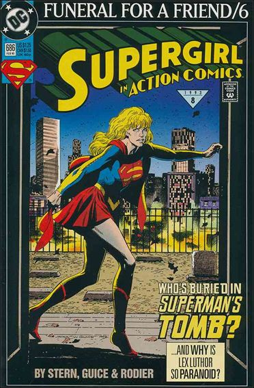 Action Comics (1938) 686-A by DC