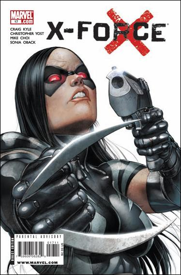 X-Force (2008) 17-A by Marvel