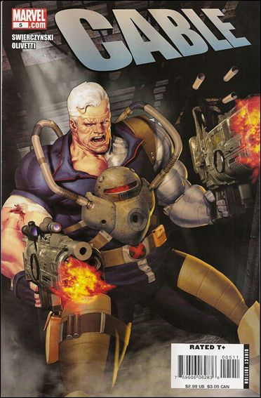 Cable (2008) 5-A by Marvel