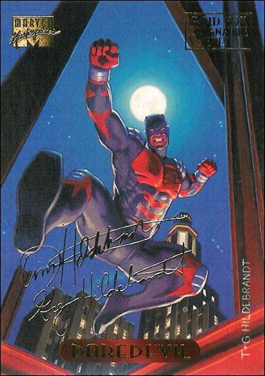 1994 Marvel Masterpieces (Gold-Foil Signature Parallel Base Set) 26-A by Fleer