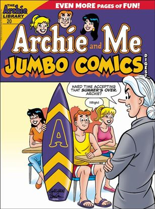Archie and Me (Jumbo) Comics Digest 20-A