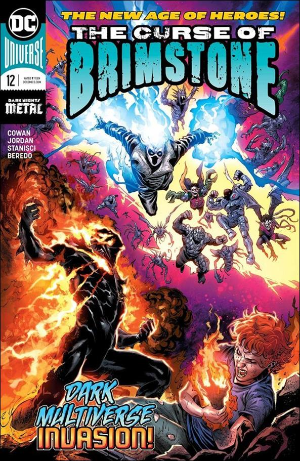 Curse of Brimstone 12-A by DC