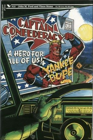 Captain Confederacy (1986) 10-A