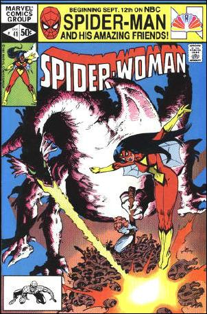 Spider-Woman (1978) 41-A by Marvel