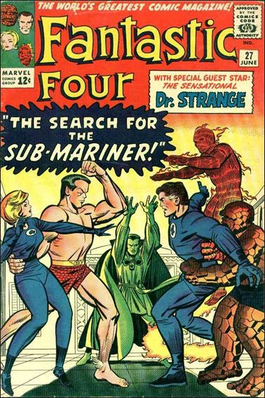 Fantastic Four (1961) 27-A by Marvel