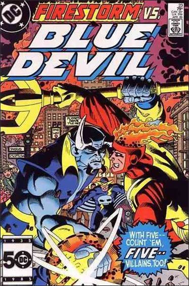 Blue Devil 23-A by DC