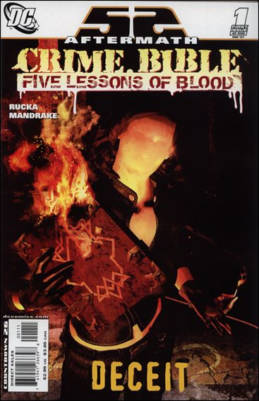 Crime Bible: The Five Lessons 1-A by DC