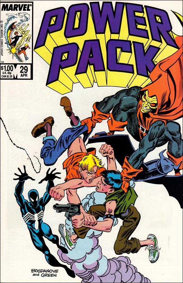 Power Pack (1984) 29-A by Marvel