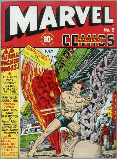Marvel Mystery Comics (1939) 9-A by Timely