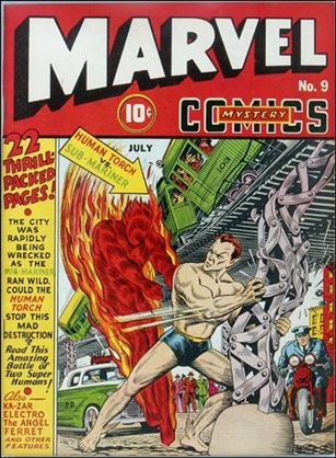 Marvel Mystery Comics (1939) 9-A