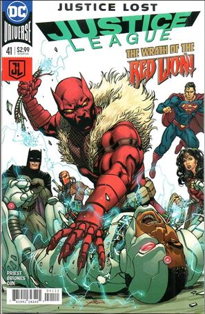 Justice League (2016) 41-A