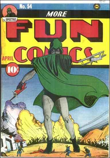 More Fun Comics 54-A by DC