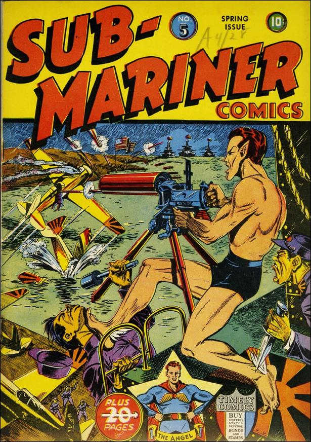 Sub-Mariner (1941) 5-A by Atlas