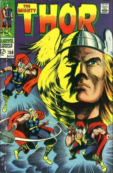 Thor (1966) 158-A by Marvel