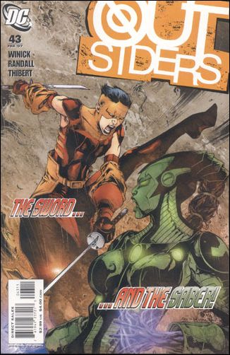 Outsiders (2003) 43-A by DC