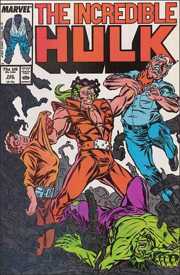 Incredible Hulk (1968) 330-A by Marvel