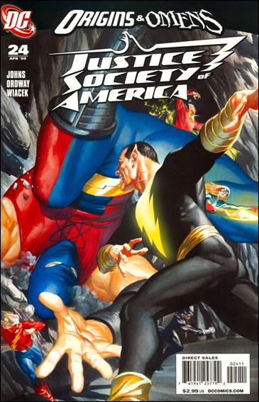 Justice Society of America (2007) 24-A by DC