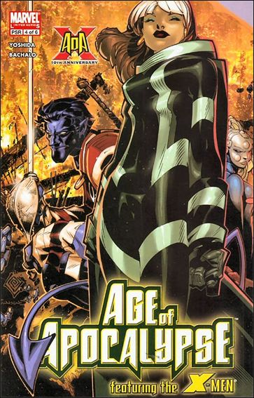 X-Men: Age of Apocalypse 4-A by Marvel