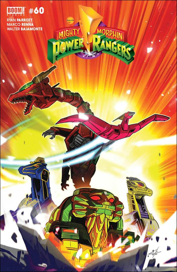 Mighty Morphin 3-B by Boom! Studios