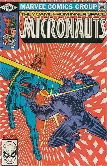 Micronauts (1979) 27-A by Marvel