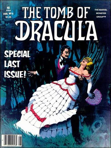 Tomb of Dracula (1979) 6-A by Marvel