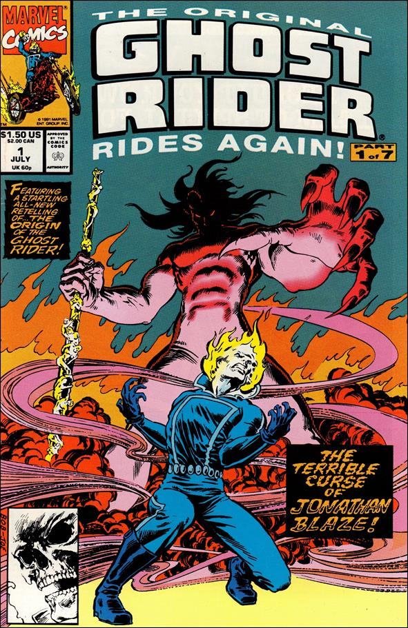 Original Ghost Rider Rides Again 1-A by Marvel
