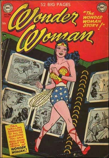Wonder Woman (1942) 45-A by DC