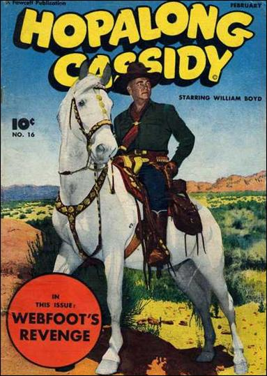 Hopalong Cassidy (1943) 16-A by Fawcett