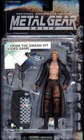 Metal Gear Solid Liquid Snake, Jan 1998 Action Figure by McFarlane Toys