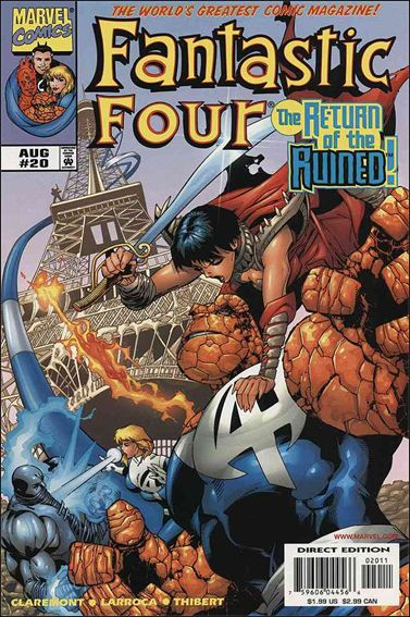 Fantastic Four (1998) 20-A by Marvel