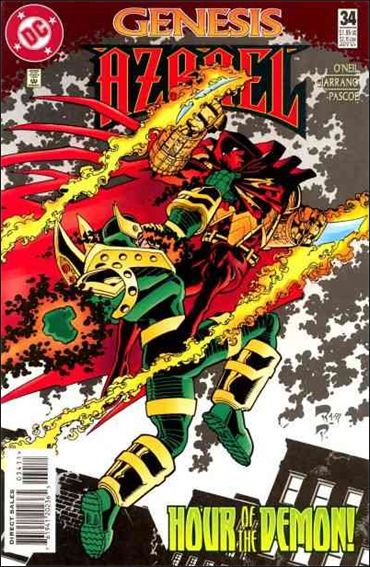 Azrael (1995) 34-A by DC