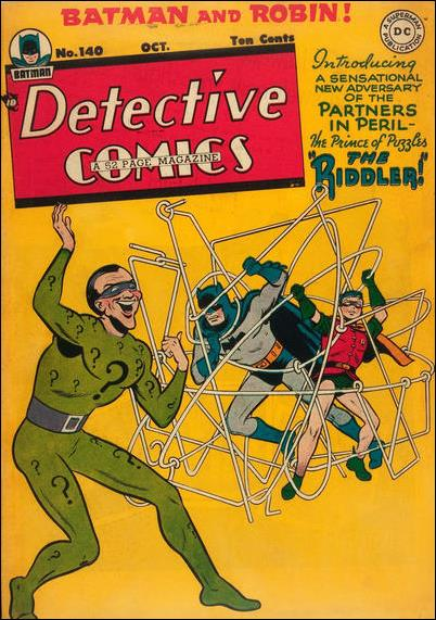 Detective Comics (1937) 140-A by DC