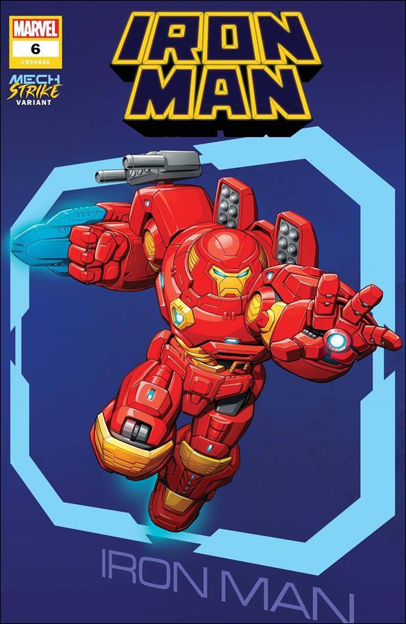 Iron Man (2020) 6-B by Marvel