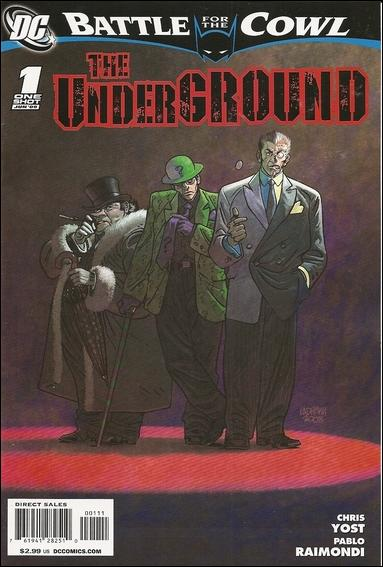 Batman: Battle for the Cowl: The Underground 1-A by DC
