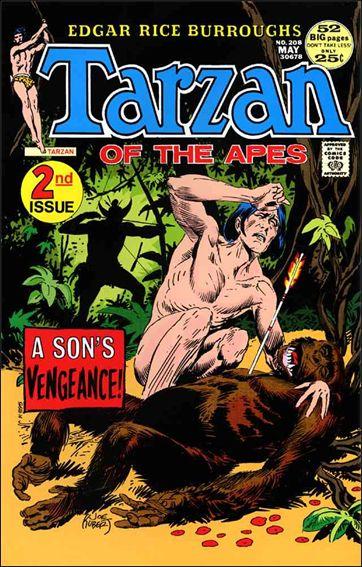 Tarzan (1972) 208-A by DC