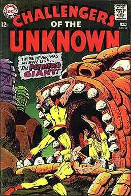 Challengers of the Unknown (1958) 59-A by DC