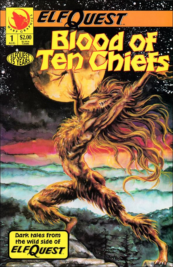 Elfquest: Blood of Ten Chiefs 1-A by Warp Graphics