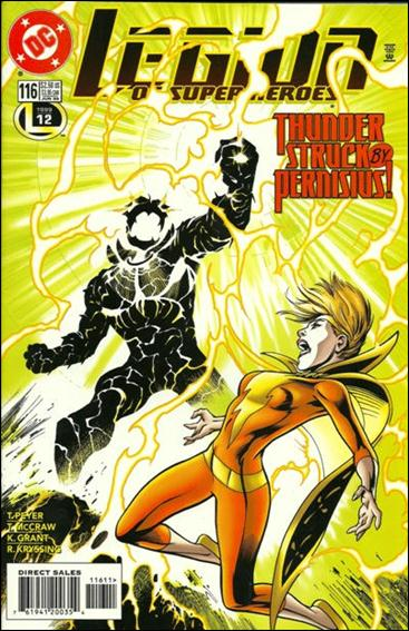 Legion of Super-Heroes (1989) 116-A by DC