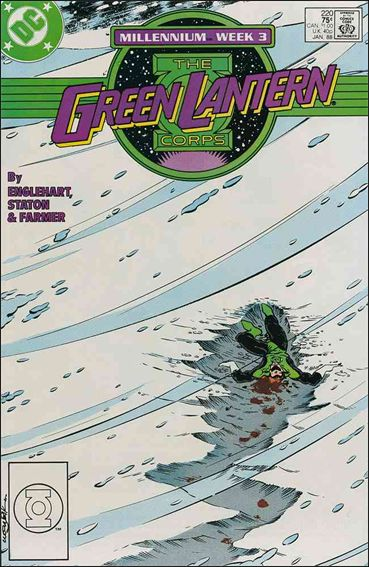Green Lantern Corps (1986) 220-A by DC