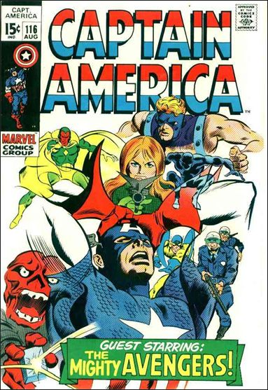 Captain America (1968) 116-A by Marvel