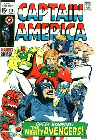 Captain America (1968) 116-A