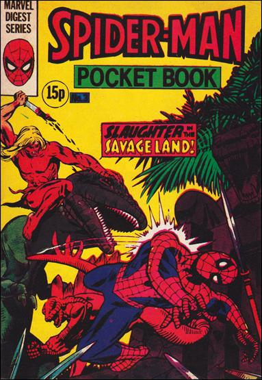 Spider-Man Pocket Book (UK) 3-A by Marvel UK