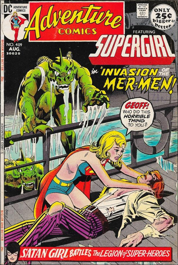 Adventure Comics (1938) 409-A by DC