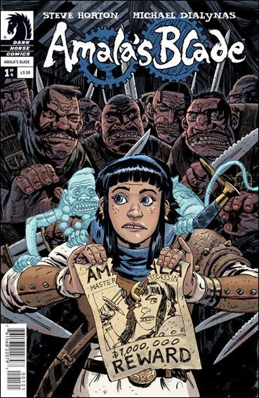 Amala's Blade 1-B by Dark Horse