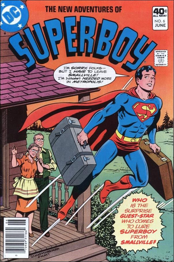 New Adventures of Superboy 6-A by DC