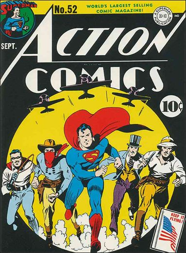 Action Comics (1938) 52-A by DC