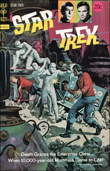 Star Trek (1967) 21-A by Gold Key