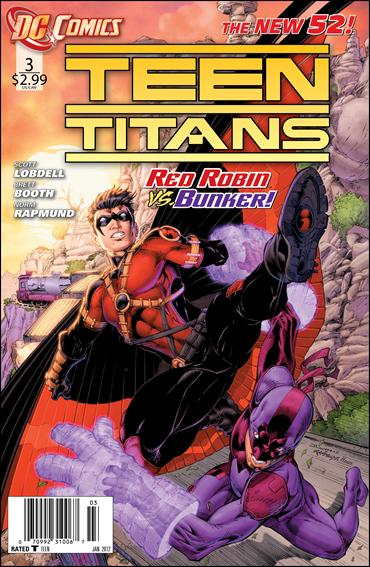 Teen Titans (2011) 3-A by DC